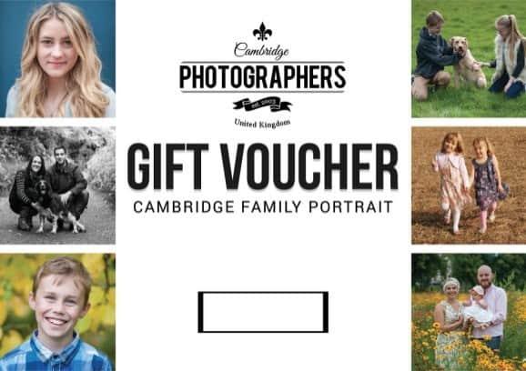 cambridge photographers gift vouchers