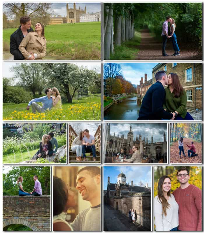 Cambridge couple photography
