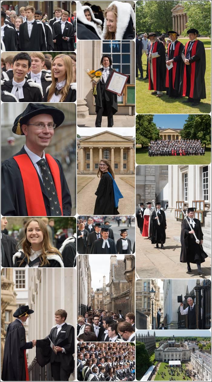 Cambridge graduation photography